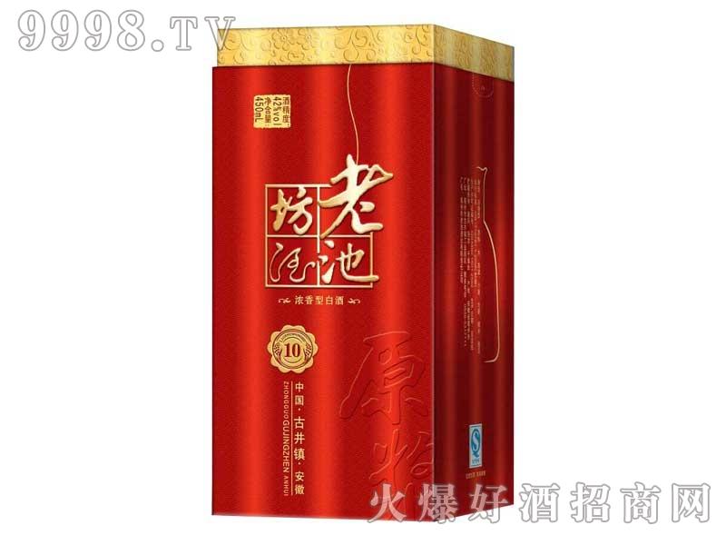 老池坊酒红盒450ml酒