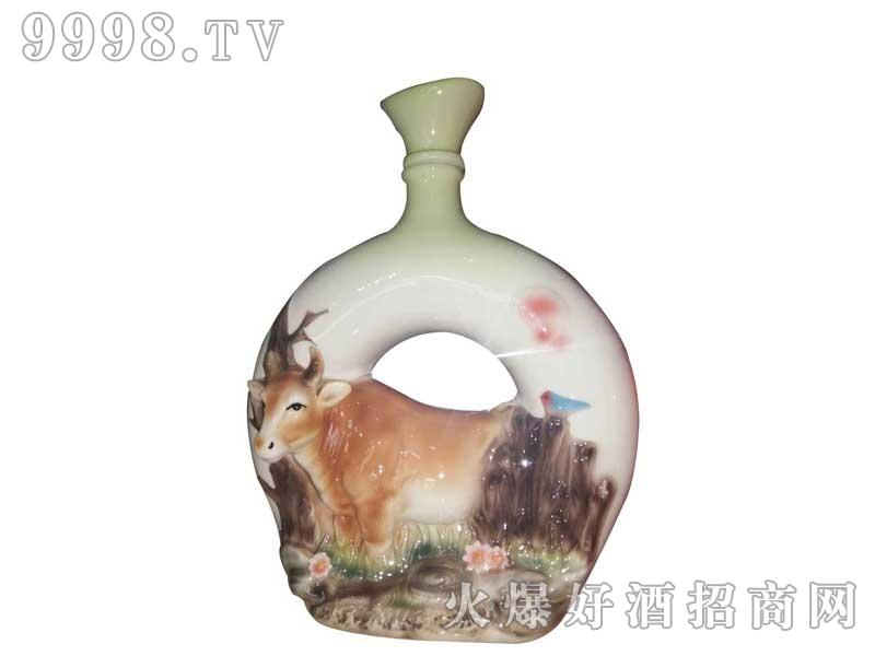 陶瓷坛装黄牛酒