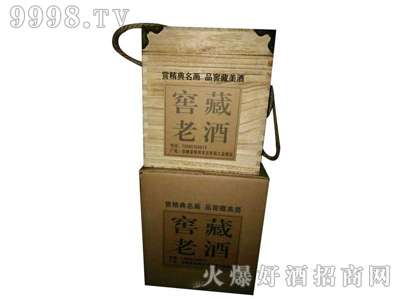 陶瓷坛装窖藏老酒