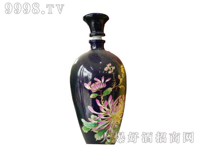 陶瓷坛装兰花
