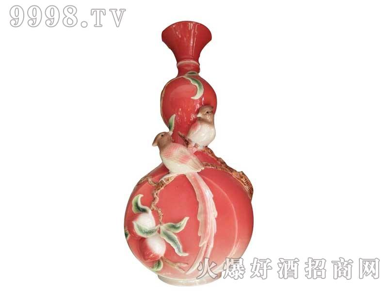 陶瓷坛装双鸟酒