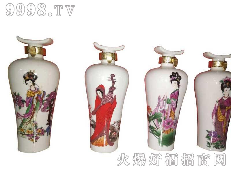 陶瓷坛装四大美女