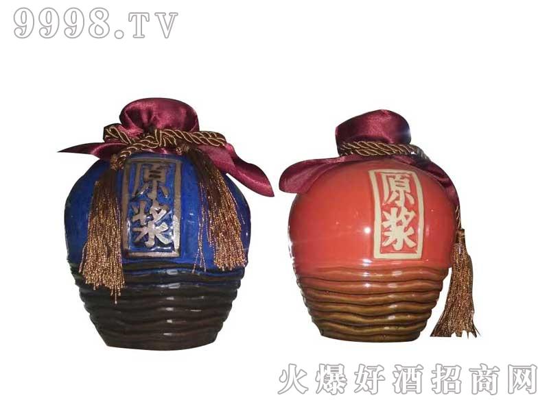 陶瓷坛装红蓝原浆