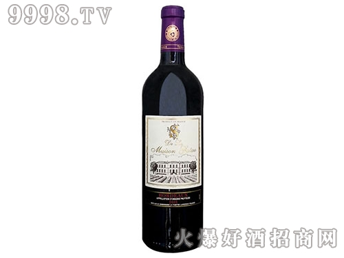 古萄世家珍藏波尔多干红葡萄酒