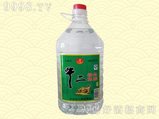 牛二精品陈酿酒42度4L