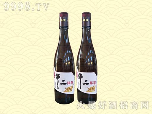京乡牛二陈酿酒42度250ml(棕瓶)