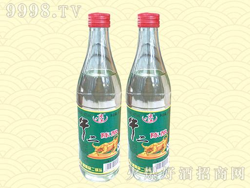京乡牛二陈酿酒42度500ml