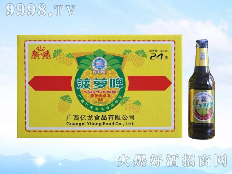 亿龙啤酒・菠萝啤330ml
