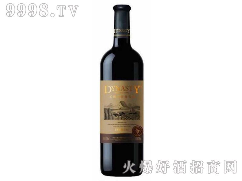 王朝窖酿解百纳金标干红葡萄酒