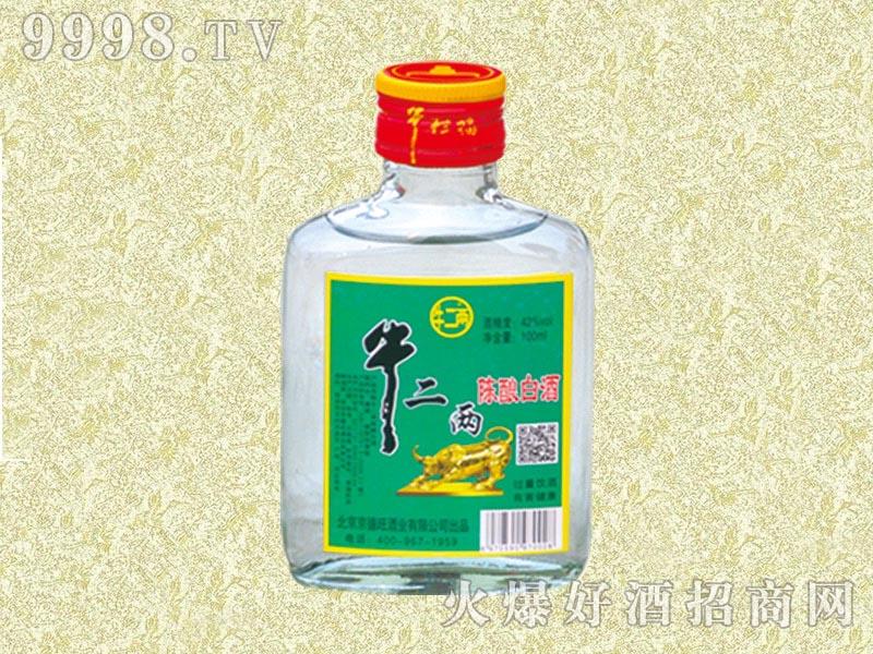 牛二两陈酿白酒42度100ml