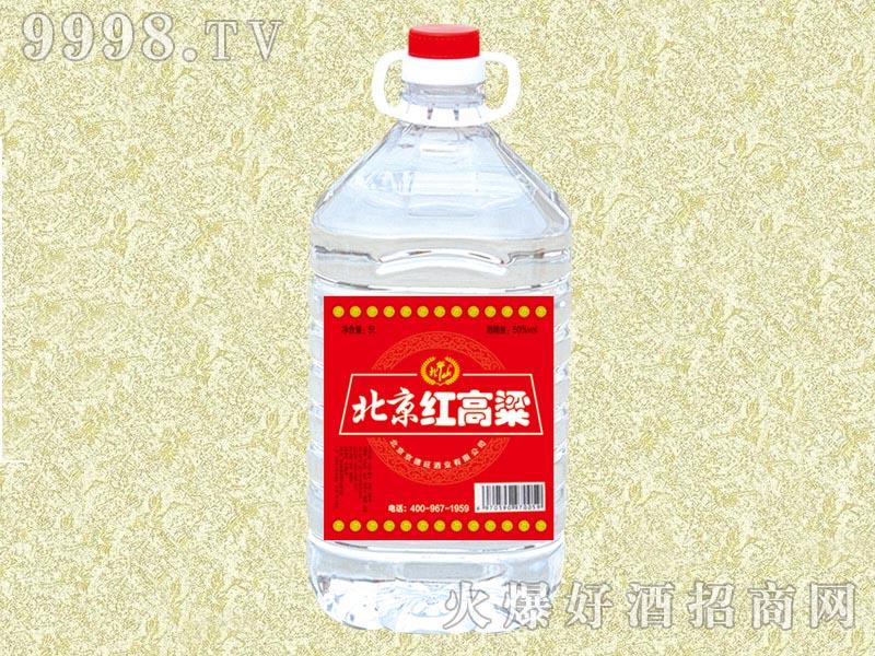 北牛山北京红高粱酒56度5L