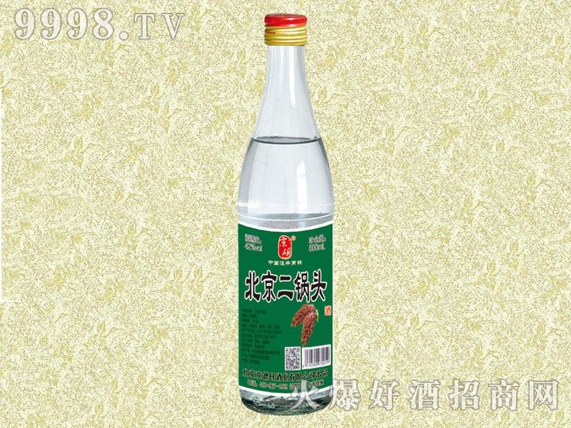 京硕北京二锅头酒500ml(绿标)