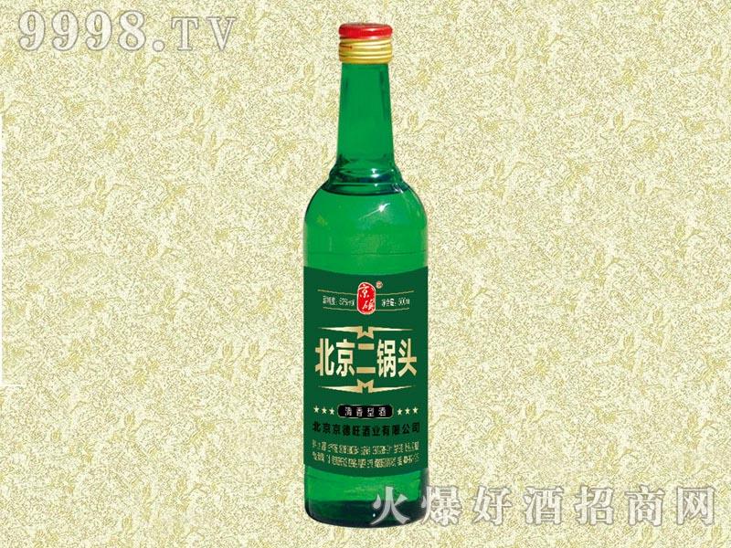 京硕北京二锅头酒500ml(绿)