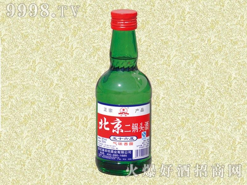 京硕北京二锅头酒56度250ml(绿)