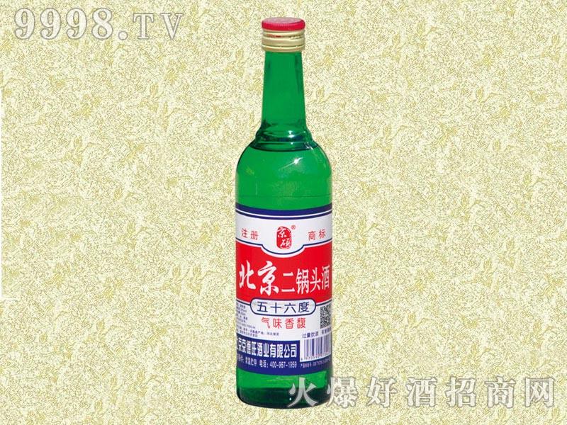 京硕北京二锅头酒56度500ml(绿)