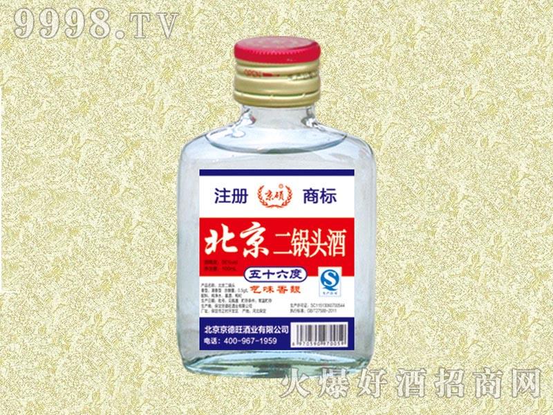 京硕白酒二锅头酒56度100ml(白)