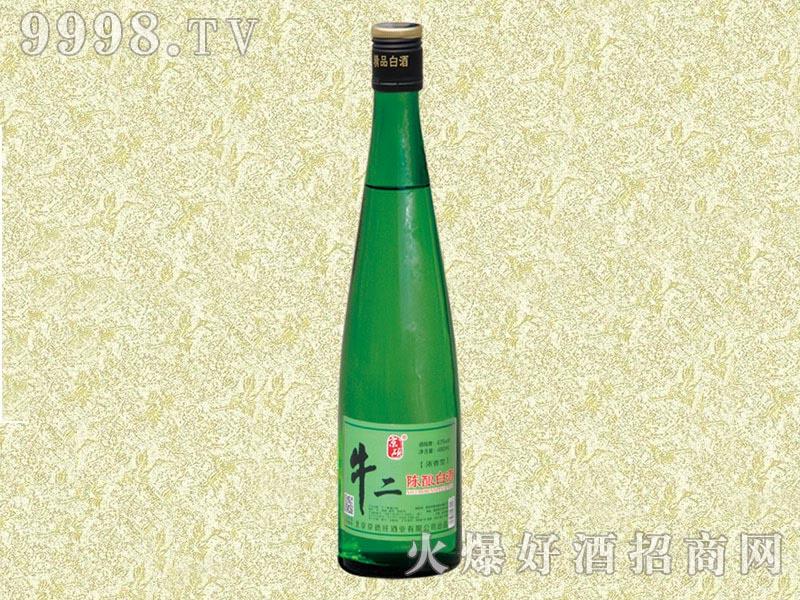 京硕牛二陈酿白酒(绿)
