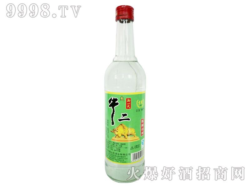 京冠新一代牛二陈酿白酒500ml