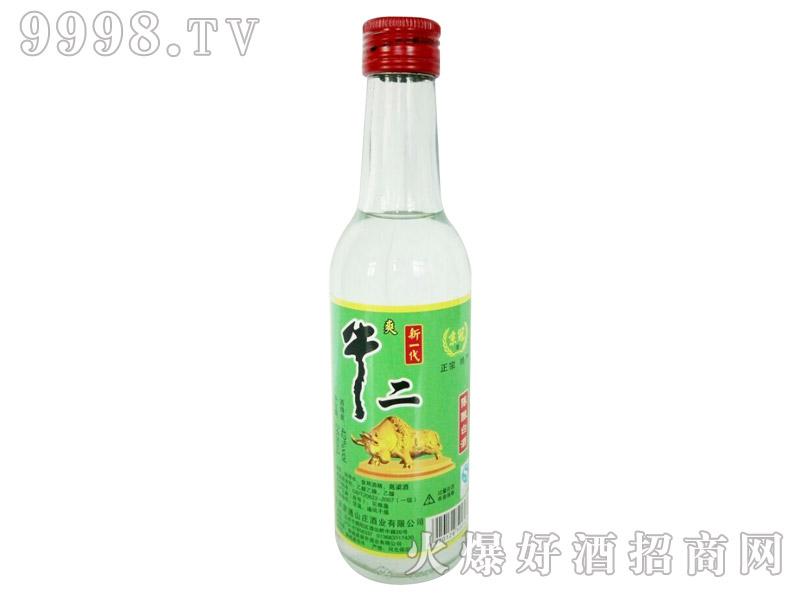 京冠新一代牛二陈酿白酒250ml
