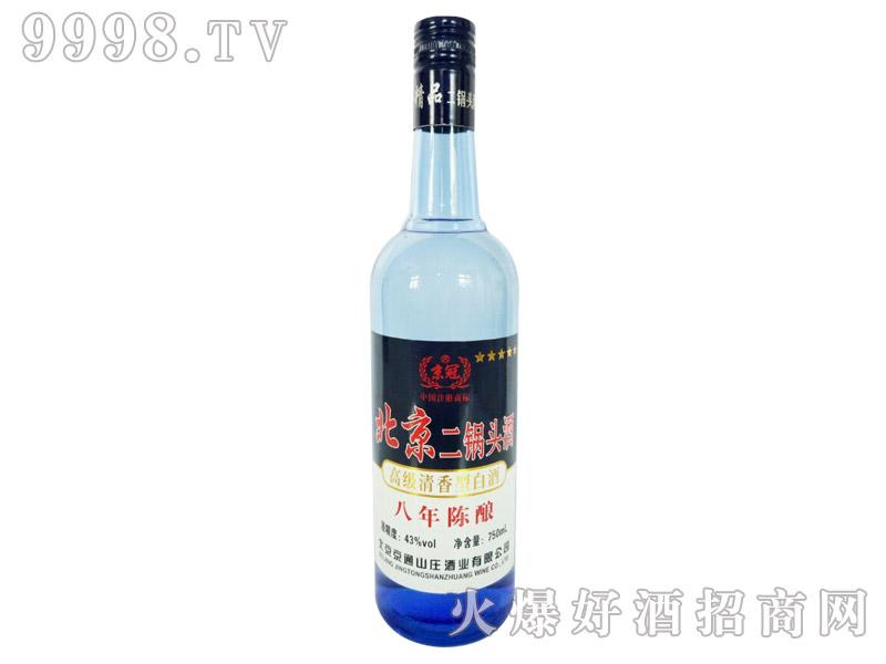 京冠北京二锅头酒陈酿8 750ml