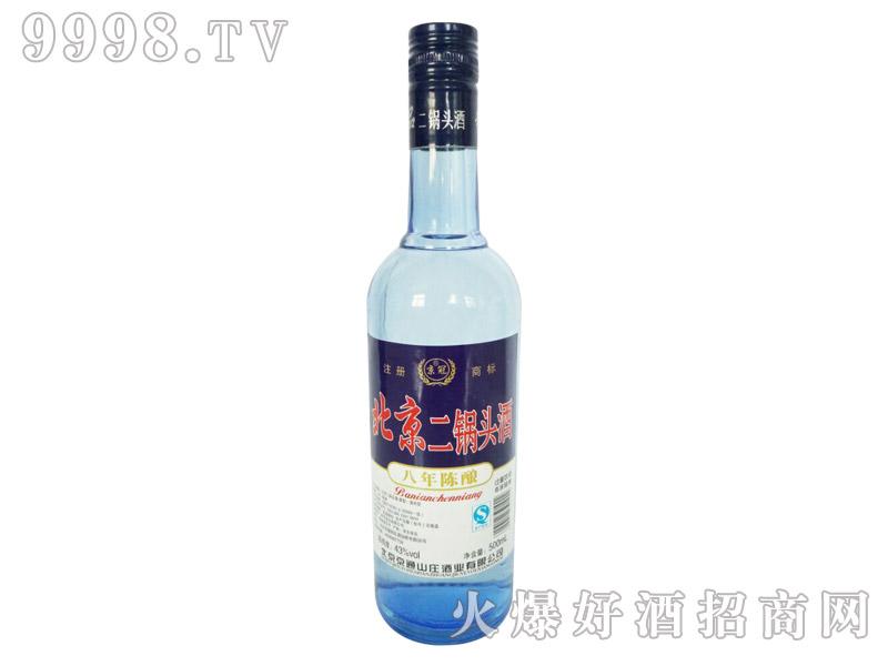京冠北京二锅头酒陈酿8 500ml