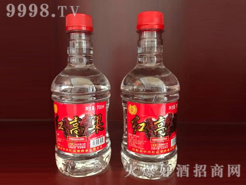 红高粱瓶装酒