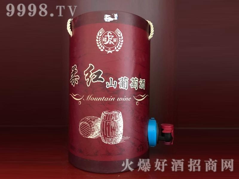 红高梁桶装酒・柔红山葡萄酒
