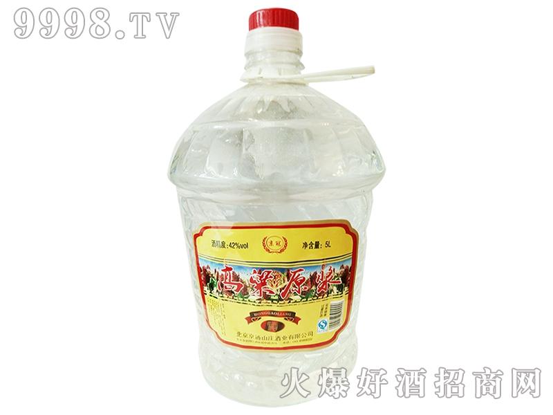 京冠高粱原浆酒桶装5L