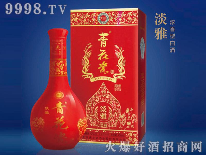青花瓷酒・红淡雅