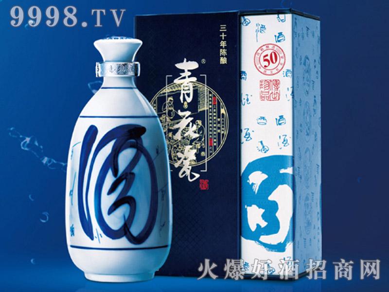 青花瓷酒清香30年陈酿