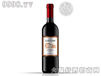 拉图仕城堡干红葡萄酒2015年
