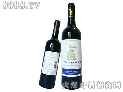拉图仕伯爵干红葡萄酒-紫标