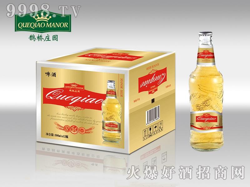 鹊桥庄园啤酒 500ml×12瓶-啤酒招商信息