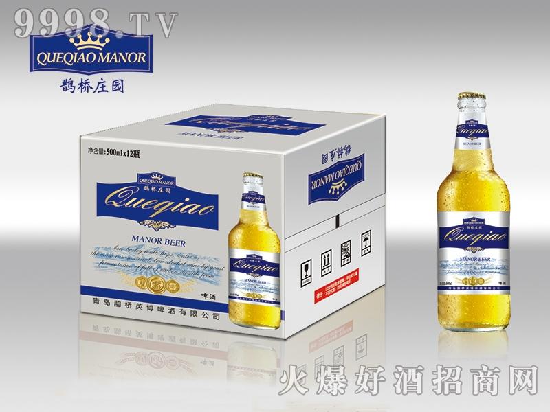 鹊桥庄园啤酒灰礼盒 500ml×12瓶