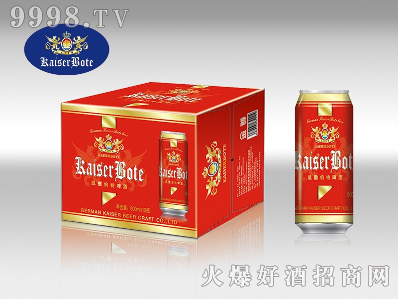 德国伯特精酿啤酒 500ml×12罐