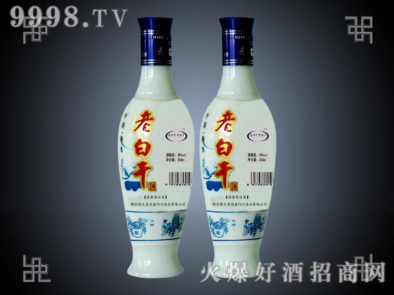 滏阳河老白干酒小白瓷38°
