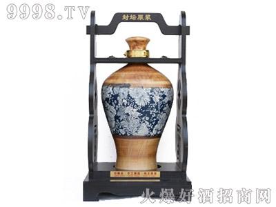 坛子酒黄瓶百花