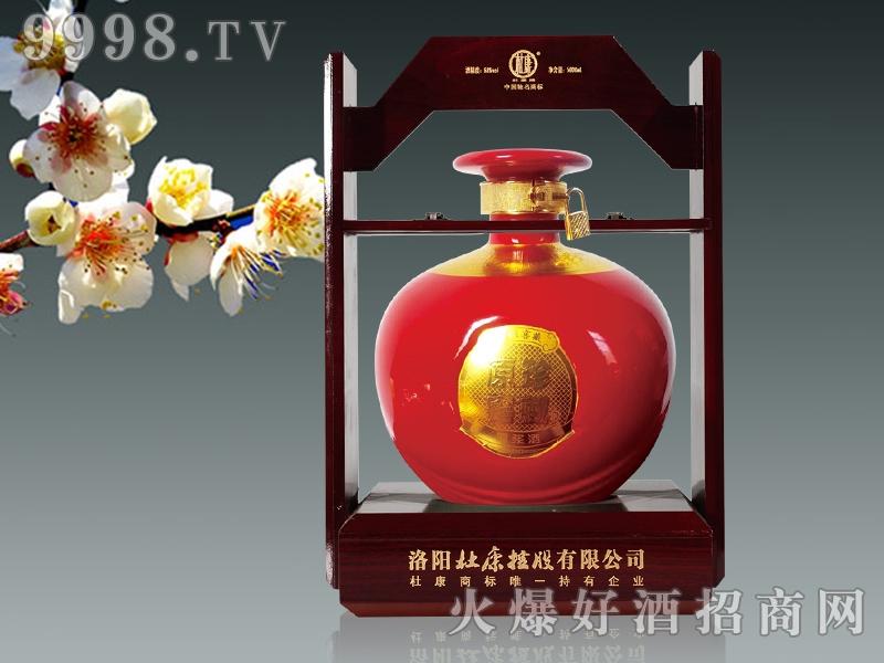 杜康原窖酒・红大坛