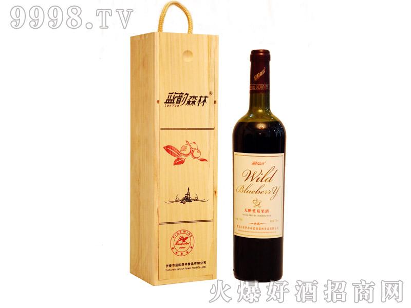 蓝莓果酒(低糖)木盒单支