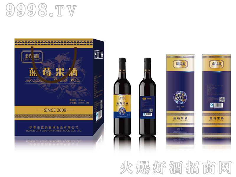 蓝金蓝莓果酒-(750mlX6瓶)