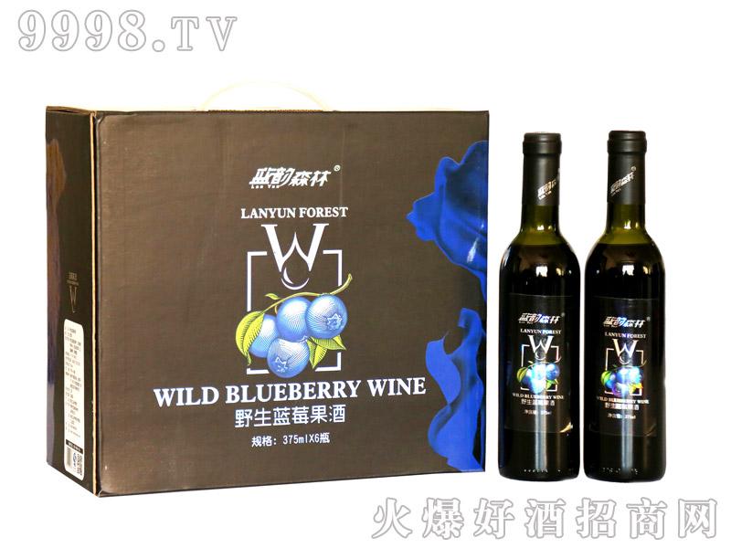 蓝莓果酒(甜型)-(375mlX6瓶)