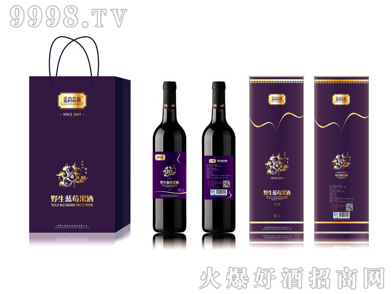 紫精灵蓝莓果酒-(750mlX2桶