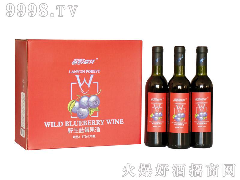 蓝莓果酒木糖醇-(375mlX6瓶)