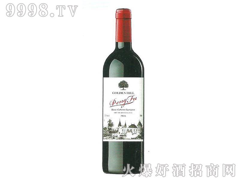 蓬富之堡西拉赤珠霞干红葡萄酒