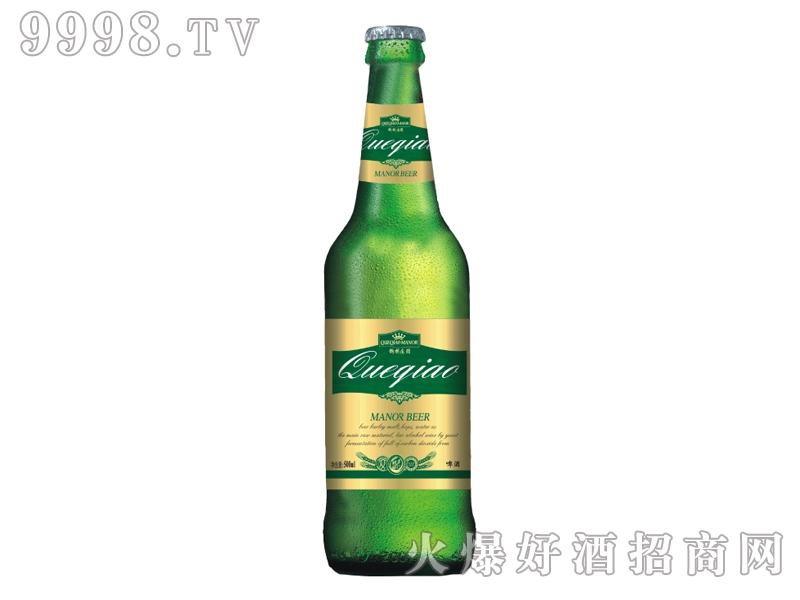 鹊桥庄园啤酒500ml青瓶