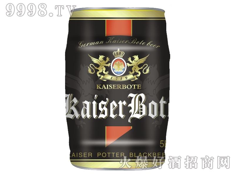 德国原浆黑啤酒5L