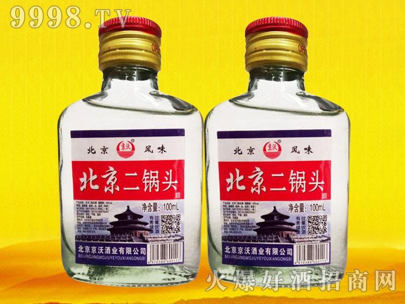 北京二锅头酒100ml(白瓶)