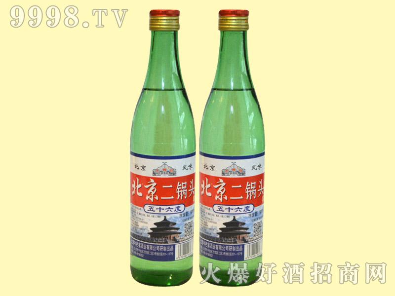 北京二锅头56°・绿瓶