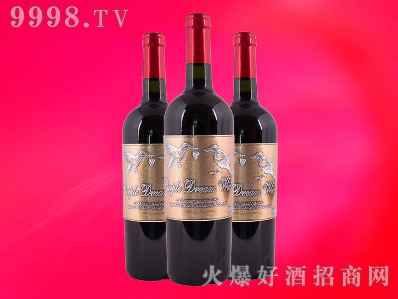 博尔德龙庄园金鹊干红葡萄酒