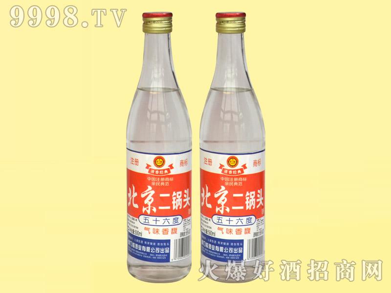 崇门楼北京二锅头酒56°500ml・红标